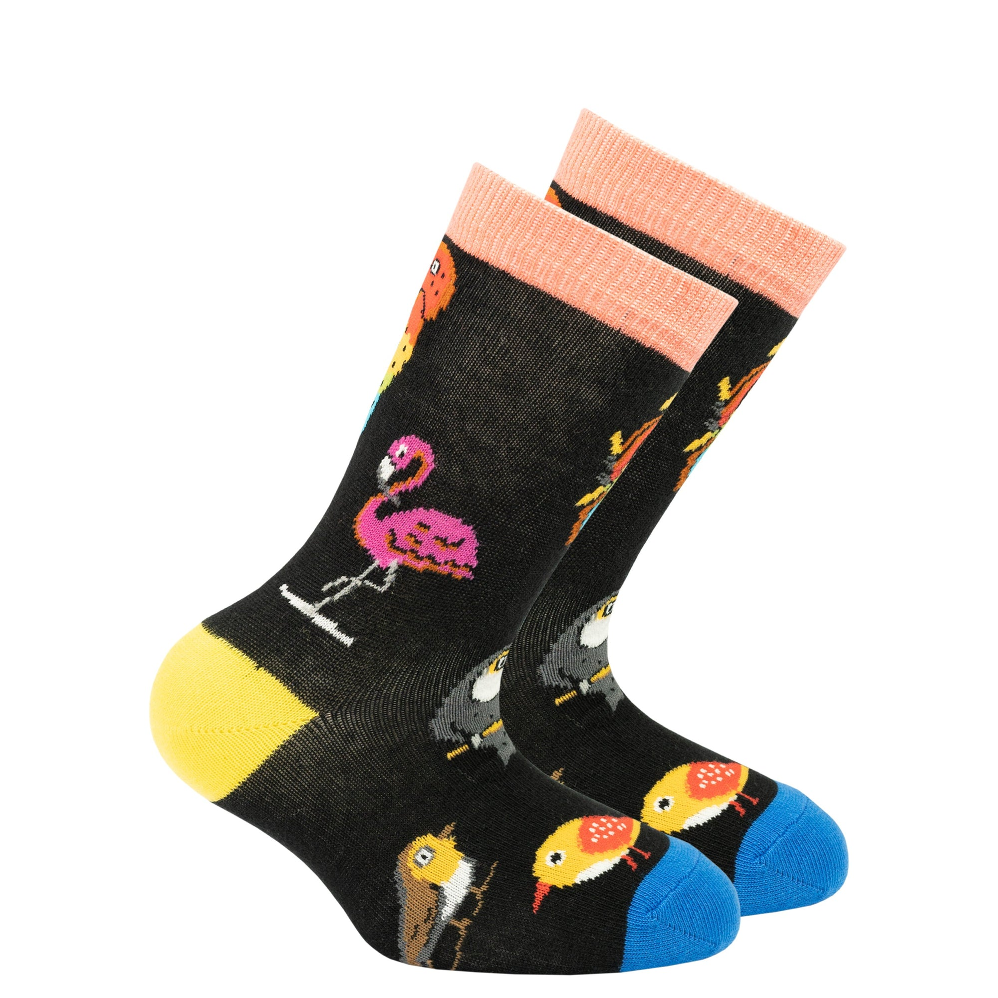 Kids Wild Birds Socks