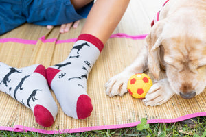 Kids Shadow Dog  Socks