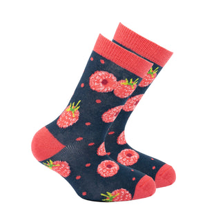 Kids Raspberry Socks