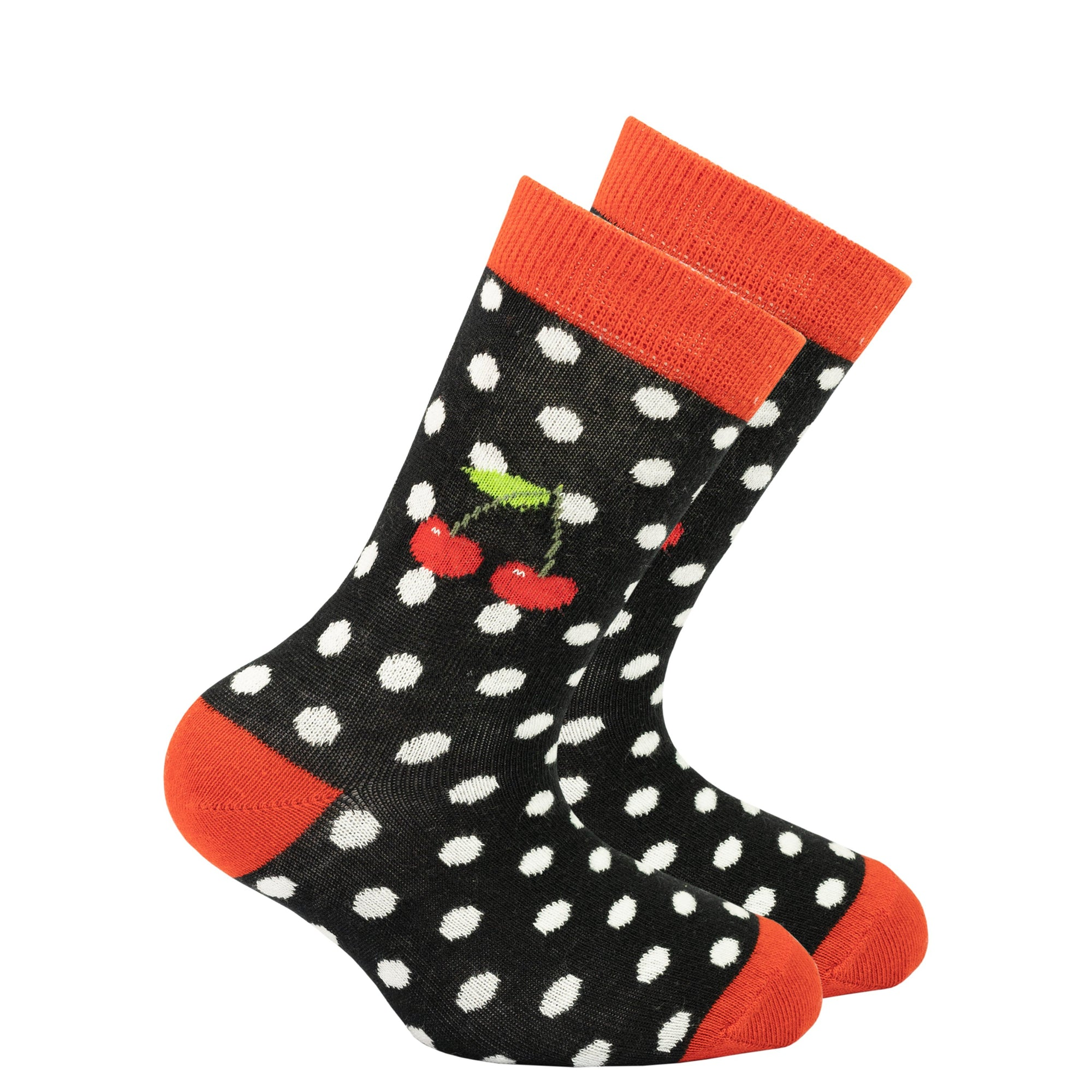 Kids Cherry Dot Socks
