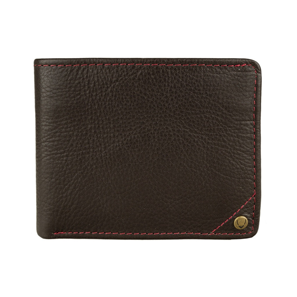 Hidesign Angle Stitch Leather Slim Bifold Wallet Accessories - Wallets & Small Goods Hidesign - Mouse Theory