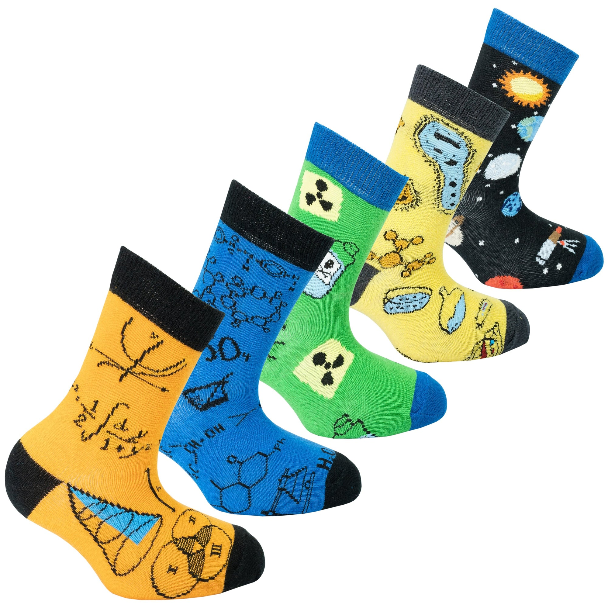 Kids Stem Socks | 5 Pack
