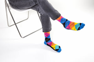 Men's Funky Argyle Socks | 5 Pack