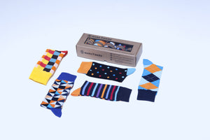 Men's Fashionable Mix Set Socks