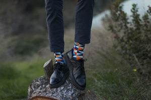 Men's Stylish Triangle Set Socks