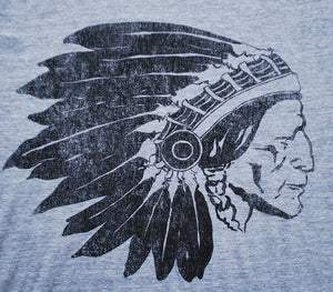 Chief Two Moons Grey Shirt