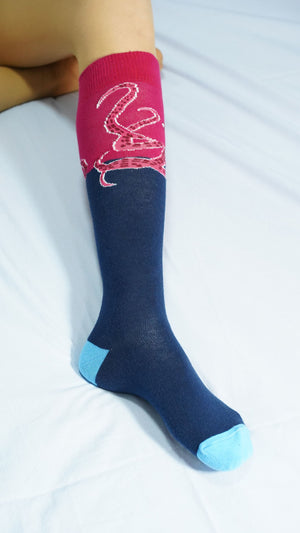 Women's Octopus Knee High Socks