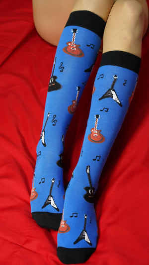 Women's Music Knee High Socks Set