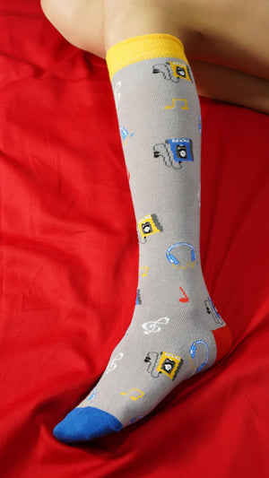 Women's Radio Knee High Socks
