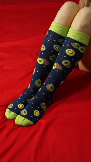 Women's Kiwi Knee High Socks