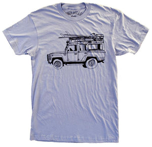 Surf Truck Blue Shirt
