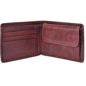 Giles Vegetable Tanned Leather Wallet with Coin Pocket Accessories - Wallets & Small Goods Hidesign - Mouse Theory