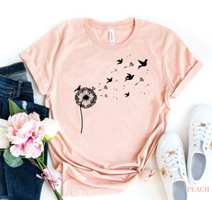 Dandelion Birds T-shirt