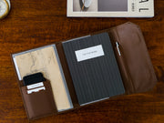 Diary Organiser - Tan / Stripes