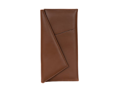 Wanderlust Passport Wallet - Tan