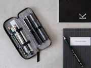 Spark - Stationery Zipper Case / Black