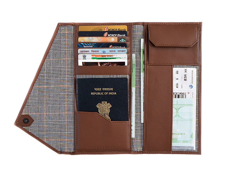 Wanderlust Passport Wallet + Key Fob