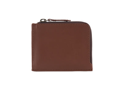 Brooklyn Zipper Wallet - Classic Tan