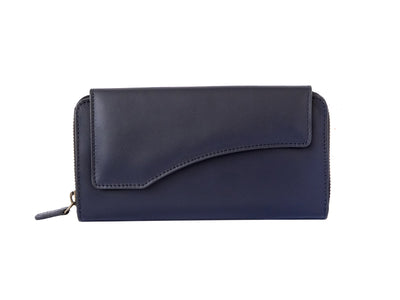 Florentine Long Wallet (Deep Sea Blue)