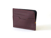 Sterling Card Holder - Burgundy