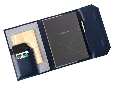 Diary Organiser - Deep Sea Blue / Line