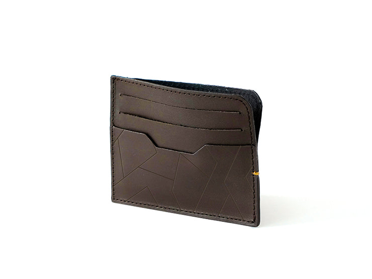 Sterling Card Holder - Dark Tan