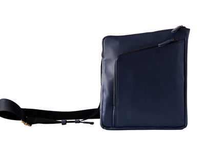 Wayfarer 2.0 - Passport & Tablet Travel Sling / Deep Sea Blue