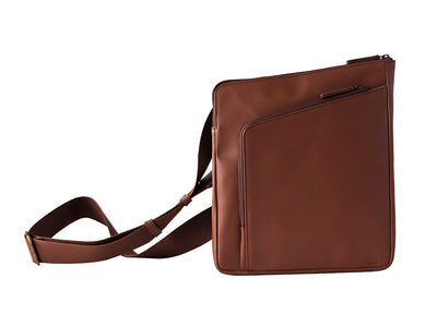 Wayfarer 2.0 - Passport & Tablet Travel Sling / Classic Tan