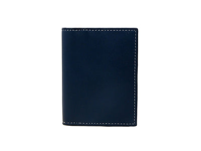 Urbane - Vertical Bifold Pull Tab Wallet - Deep Sea Blue