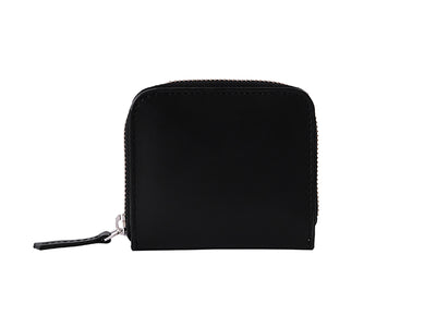 Chester Zipper Wallet - Black