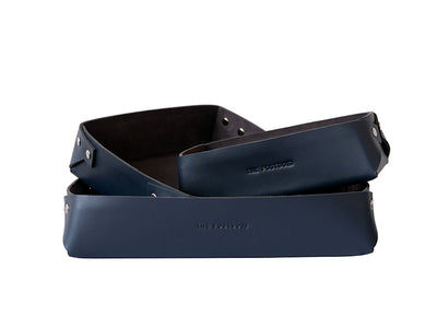Desk Organiser Tray - Deep Sea Blue
