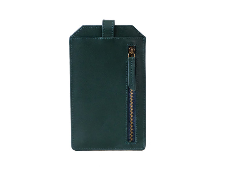 Ari Mobile Sleeve - Emerald Green