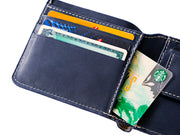 Manhattan Bifold Wallet - Deep Sea Blue