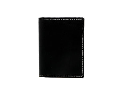 Urbane- Vertical Bifold Pull Tab Wallet - Carbon Black (Custom)