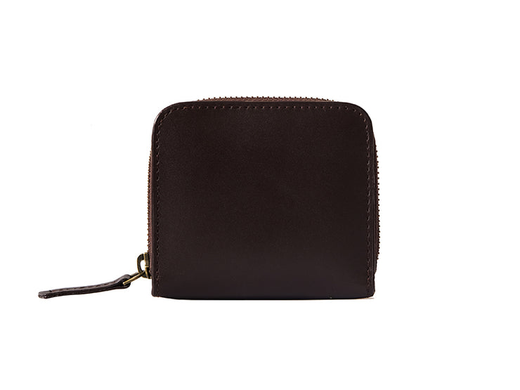 Chester Zipper Wallet - Dark Tan