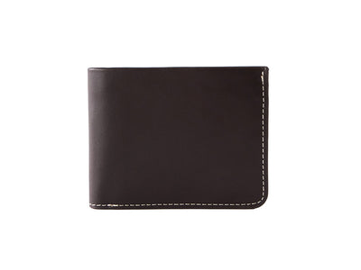 Manhattan Bifold Wallet - Dark Tan (Custom)
