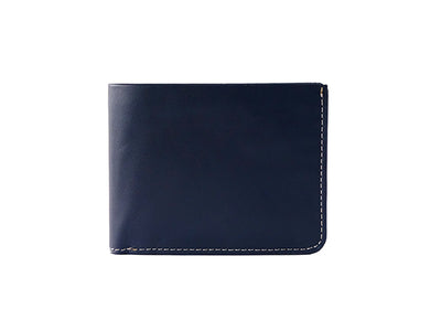 Manhattan Bifold Wallet - Deep Sea Blue (Custom)