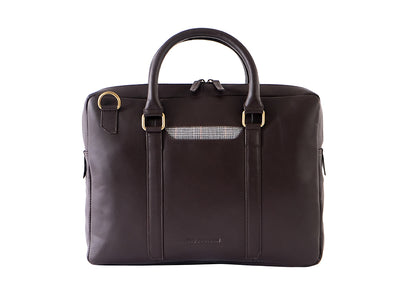Cullen Laptop Bag - Dark Tan