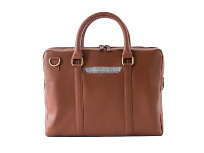 Cullen Laptop Bag - Classic Tan (Custom)
