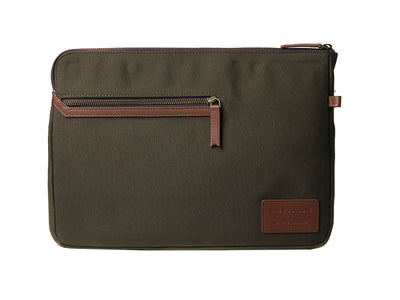 Rye Laptop Sleeve - Forest Green