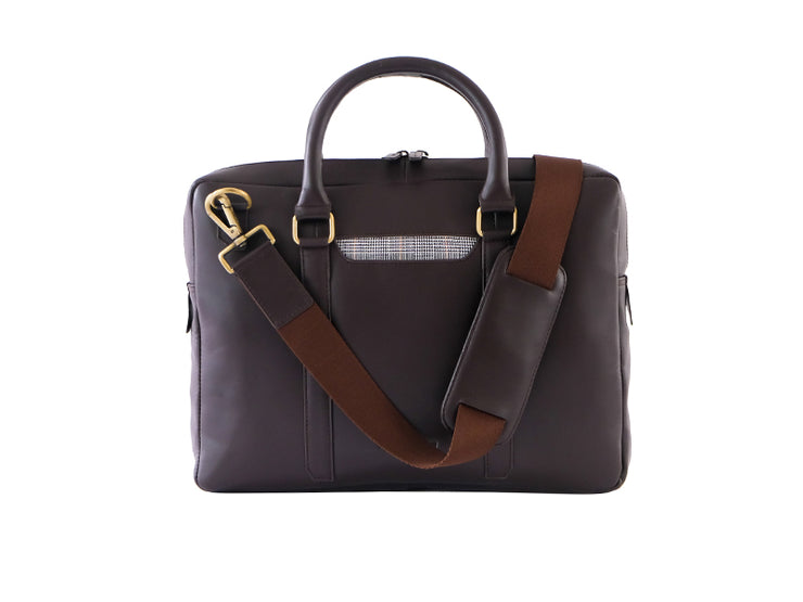 Cullen Laptop Bag - Dark Tan (Custom)