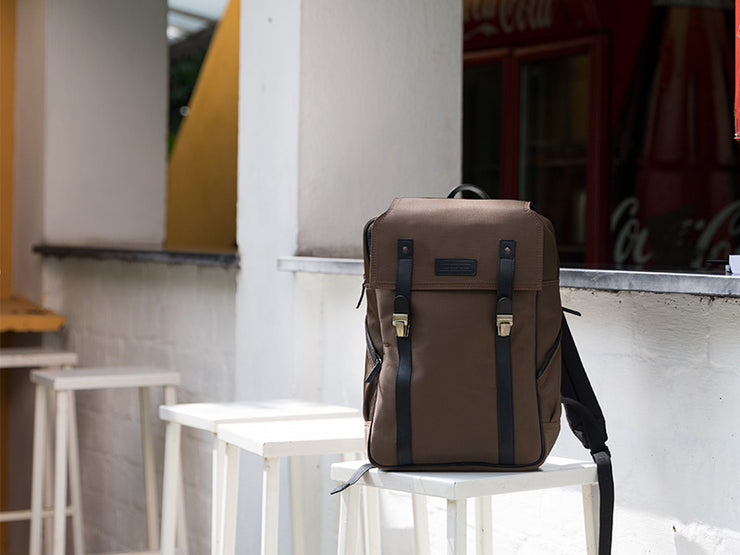 The Transit 2.0 Backpack - Pecan Brown