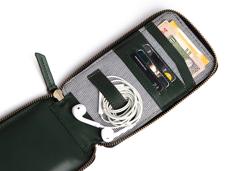 AIO Mobile Wallet - Emerald Green
