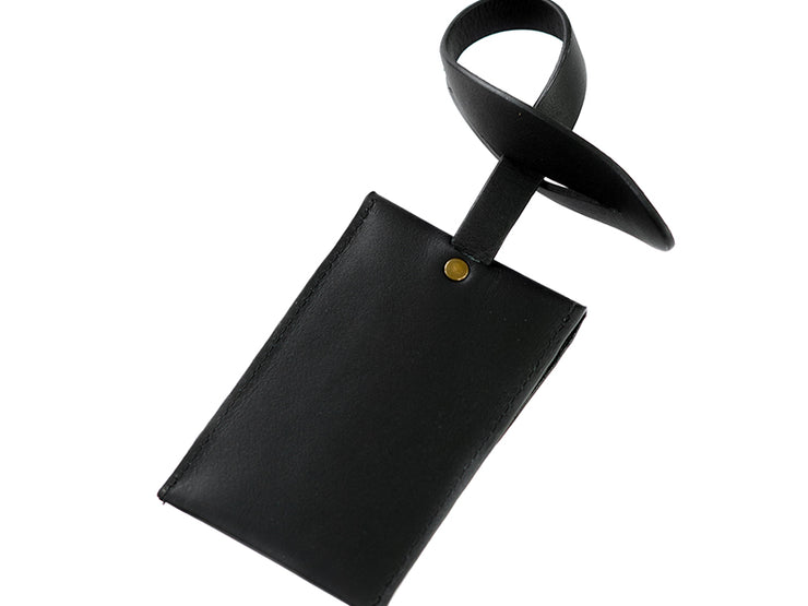 Luggage Tag - Black