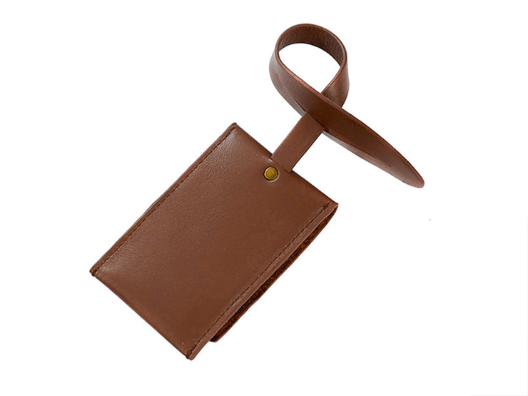 Luggage Tag - Tan (Custom)