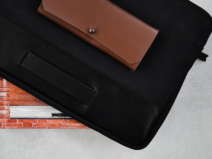 Rye Laptop Sleeve - Carbon Black