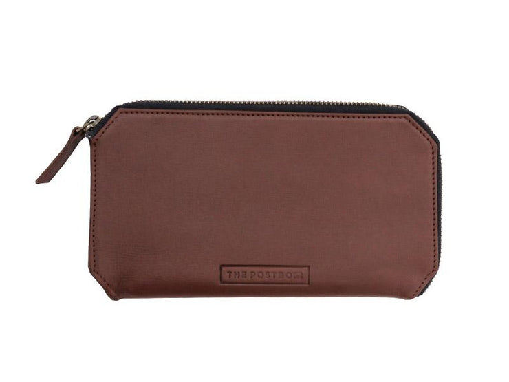 Utility Leather Pouch - Tan