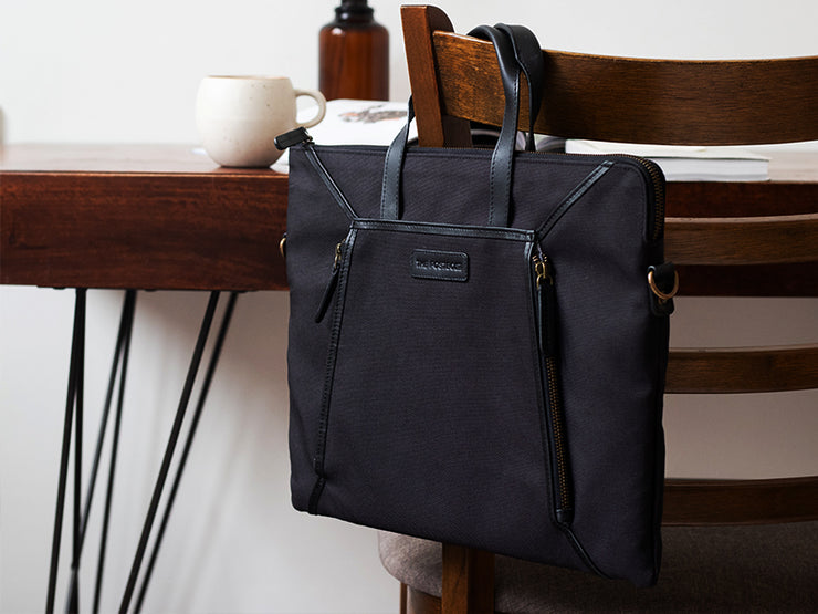 Bureau - Slim Laptop Bag (Charcoal)
