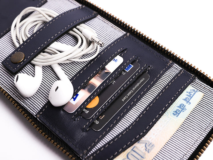 AIO Mobile wallet - Deep Sea Blue (Custom)