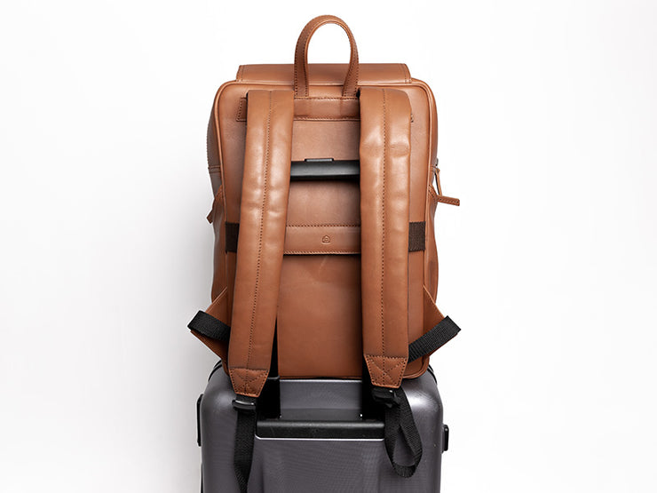 The Transit 2.0 - Cappuccino Nappa Leather
